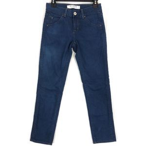 Hudson Jeans pencil flap pocket ankle jeans A256